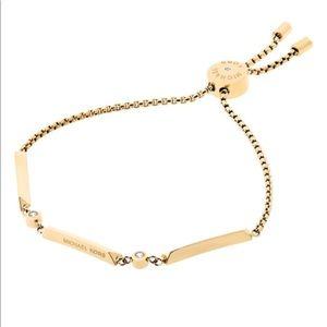 Michael Kors Knife Edge Goldtone Bracelet
